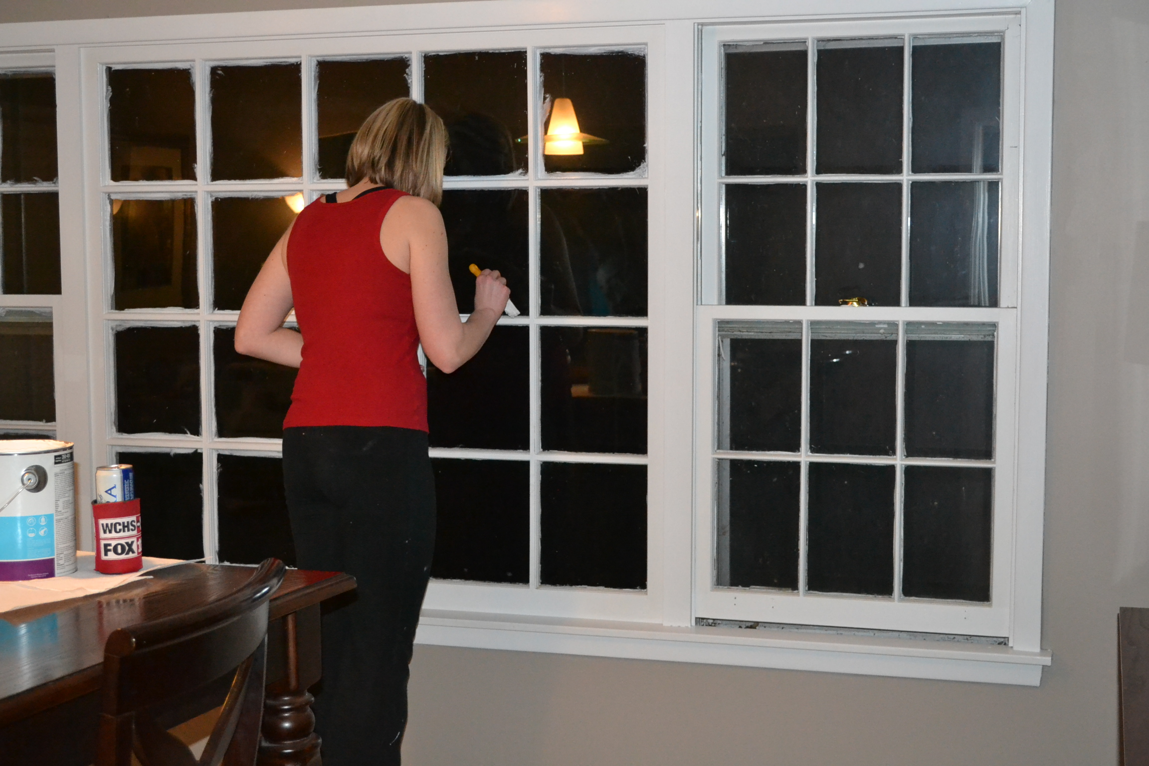 it all started with painting the kitchen trim. Black Bedroom Furniture Sets. Home Design Ideas