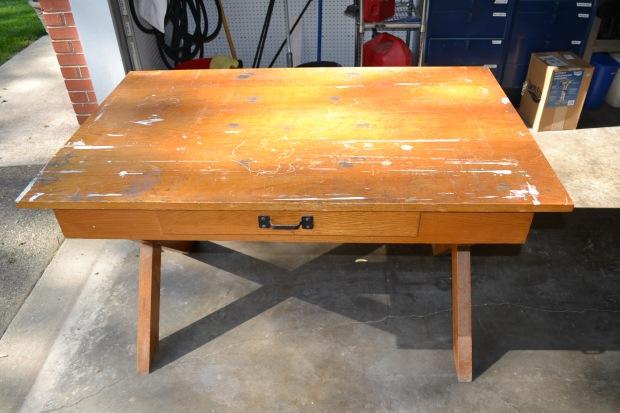 old school desk plans