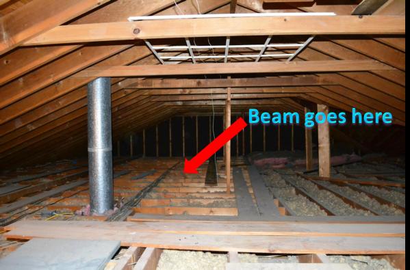attic beam Master