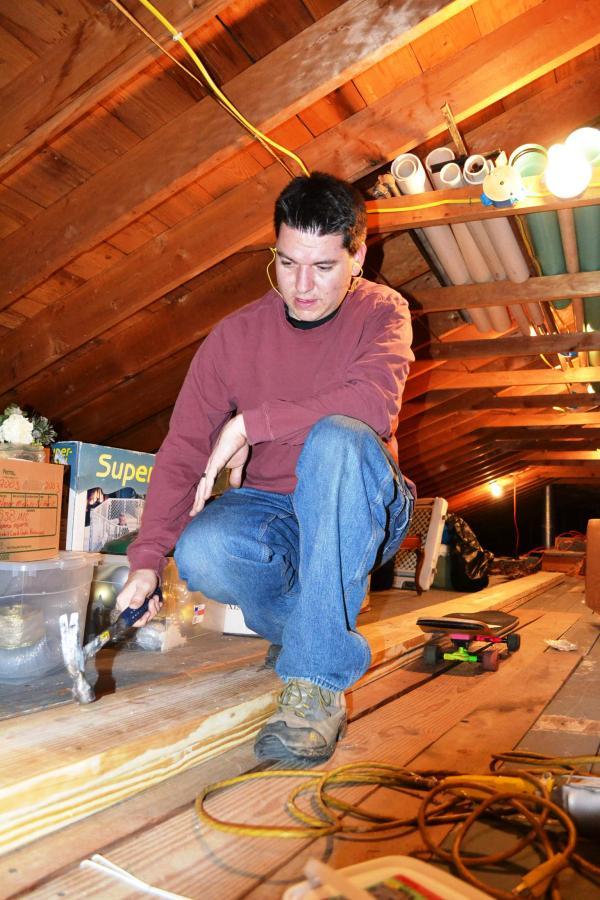 attic beam