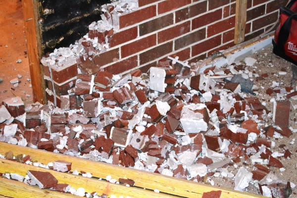 brick wall demo