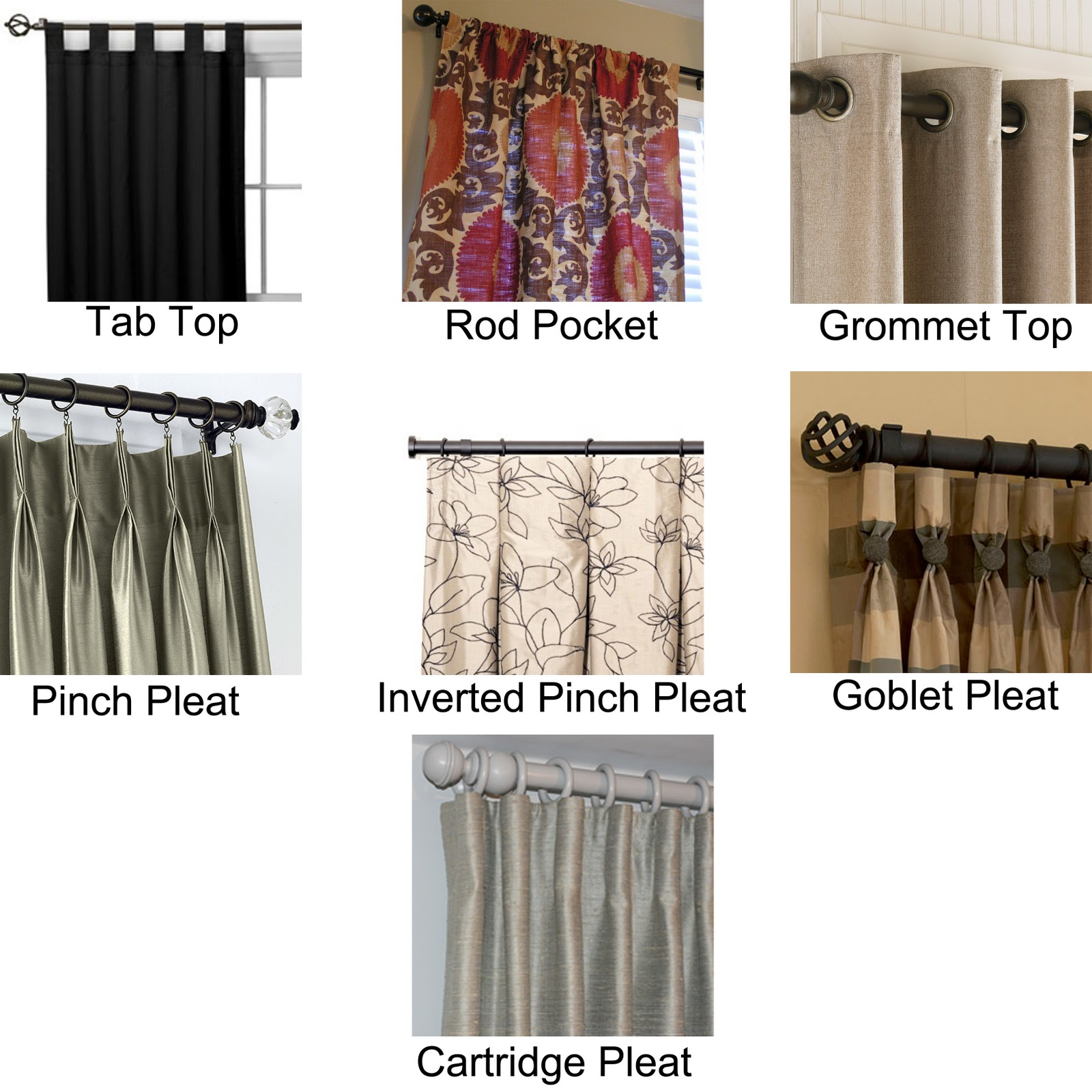 diy hidden tab curtains