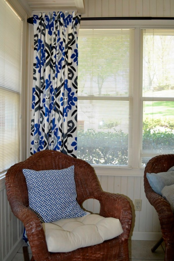 sunroom curtain