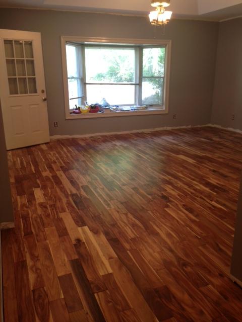 acacia floor