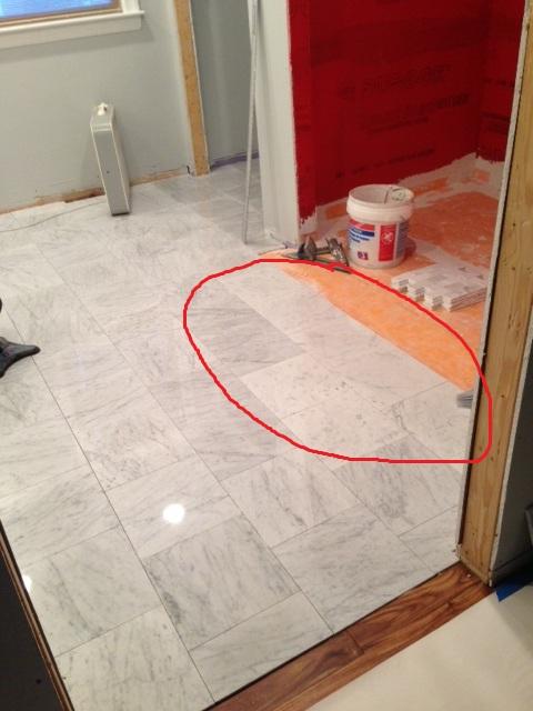 marble floor misfits