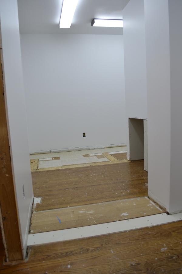 closet floor